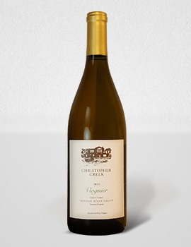 2015 Christopher Creek Viognier Russian River Valley