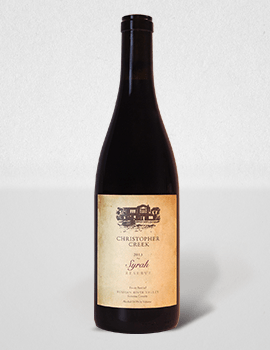 Christopher Creek Syrah